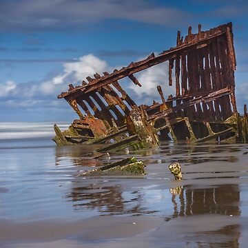 Wreck of the Peter Iredale, #2 Fort Stevens, Oregon by Zigzagmtart