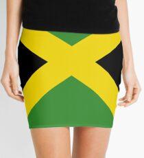 BIG UP Jamaica Flag Skirt Hot Reggae T-Shirt Duvet Mini Skirt