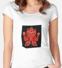 cartoon Women's Fitted Scoop T-Shirt