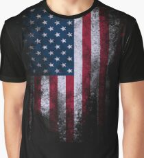USA America Flag Graphic T-Shirt