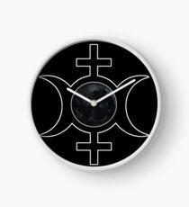 Sister Moon Tribe Clock