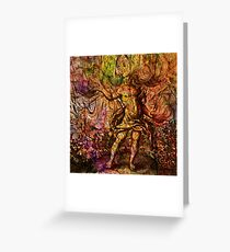 Alchemical Fire - In The Belly Of The Wind Greeting Card