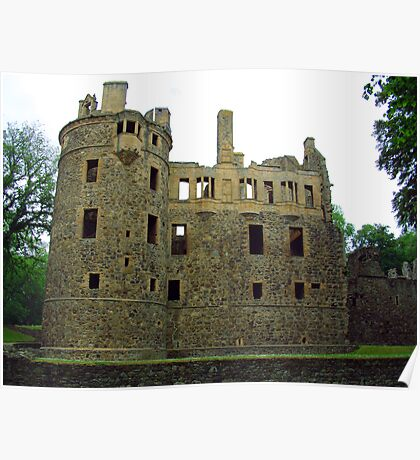 Huntly Castle Poster