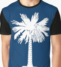 South Carolina State Flag Columbia Bedspread T-Shirt Sticker Graphic T-Shirt