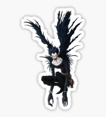 Ryuk from the anime/manga Death Note: original hand-drawn illustration  Sticker