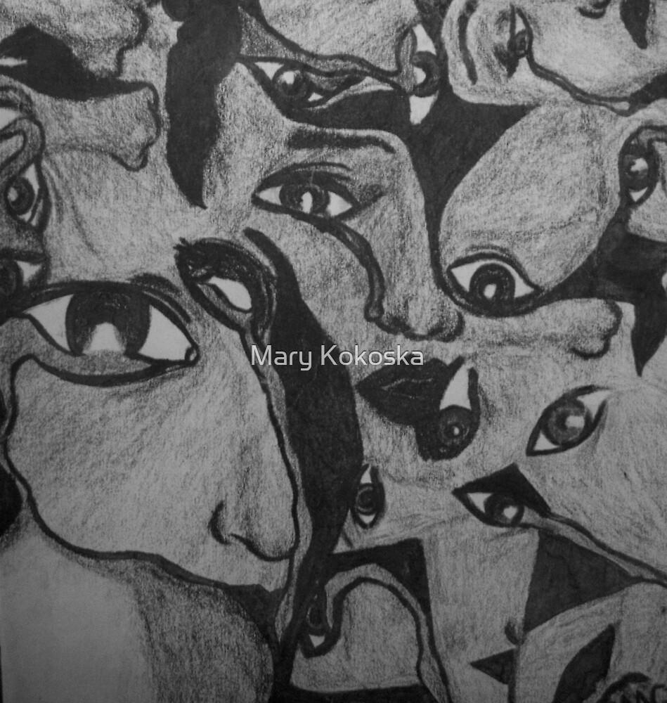 Sad Eyes by Mary Kokoska