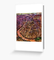 Desert Varnishes - Grand Canyon Greeting Card