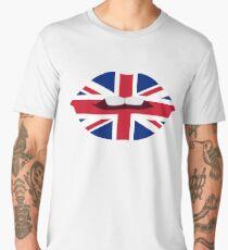 Brittish Lips Men's Premium T-Shirt