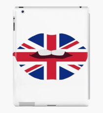 Brittish Lips iPad Case/Skin