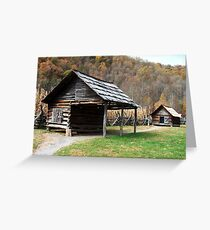Pioneer Homestead in Great Smoky Mountains Greeting Card
