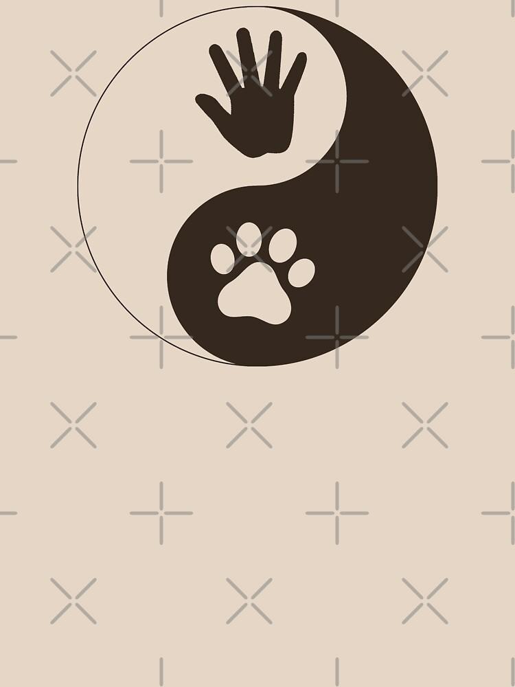 Yin Yang Hand Paw by Thogek