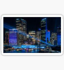 Vivid Sydney -The Blue City Sticker