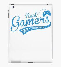 Real Gamers Skip Tutorial iPad Case/Skin