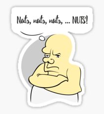 Grumpy - The states of Affairs VRS2 Sticker