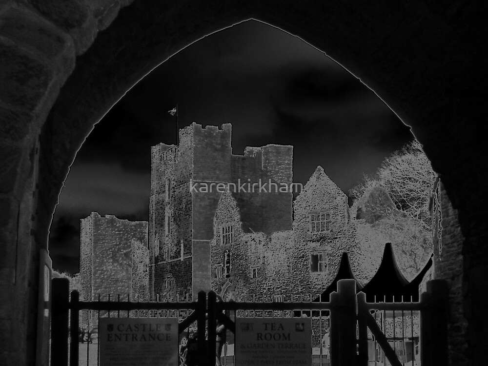 Ludlow Castle modified by karenkirkham