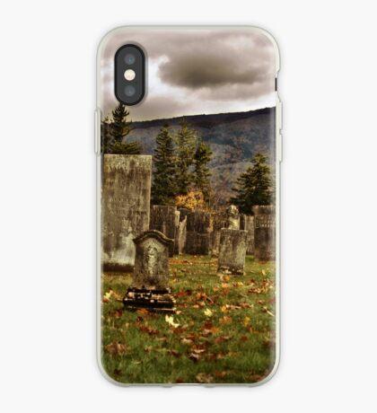 Vermont Cemetery III iPhone Case