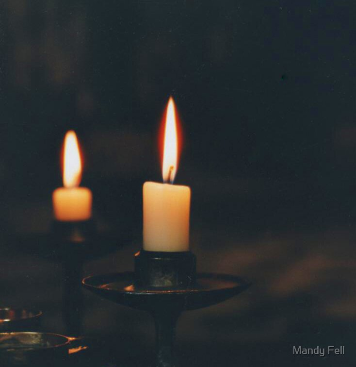 Candles by Mandy Fell
