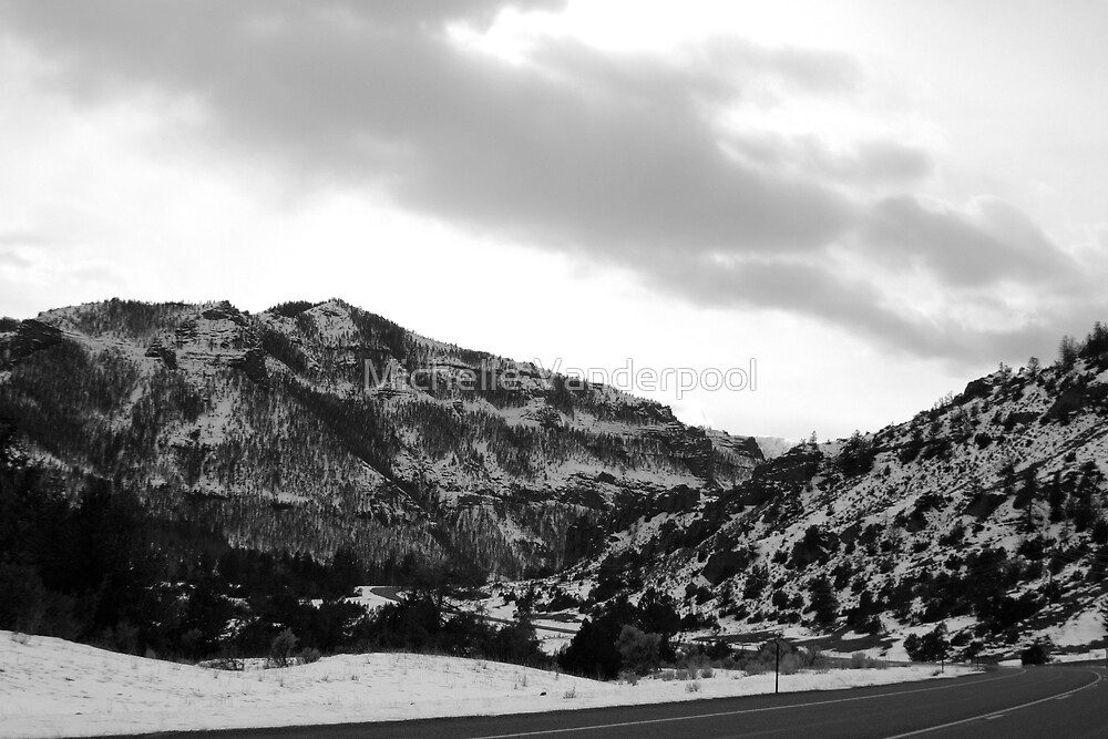 snowy mountain by Michelle Vanderpool