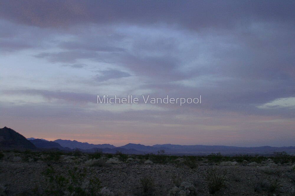 Nevada sunrise by Michelle Vanderpool
