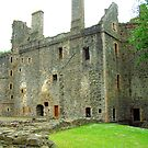 Huntly Castle II by Tom Gomez