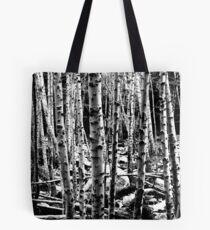 through the trees Tote Bag