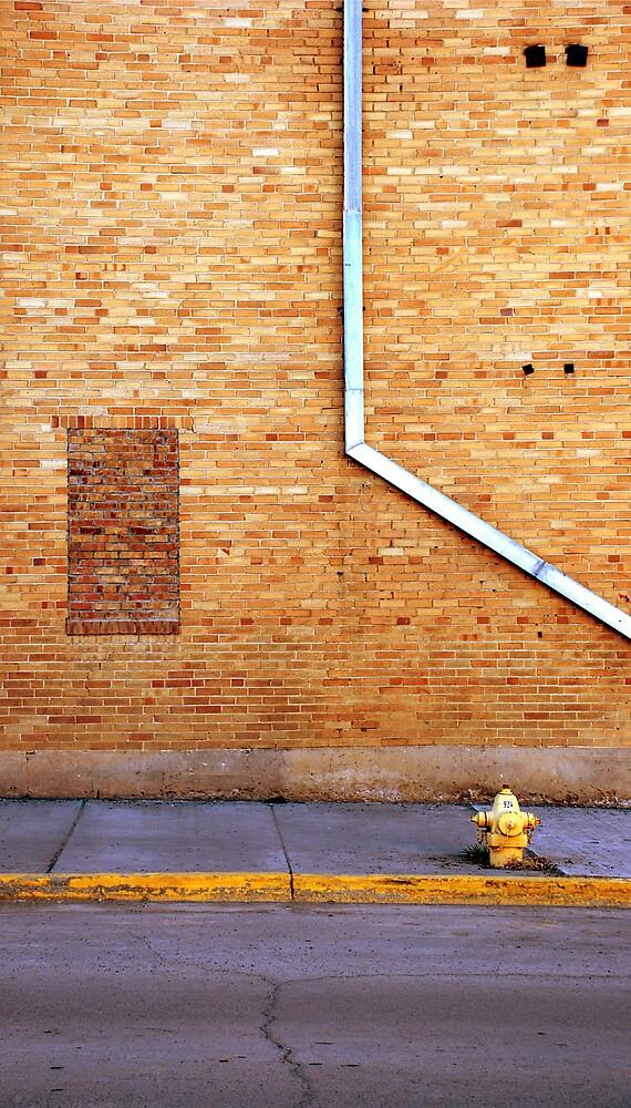 Plain... wall.... by Jenson Yazzie