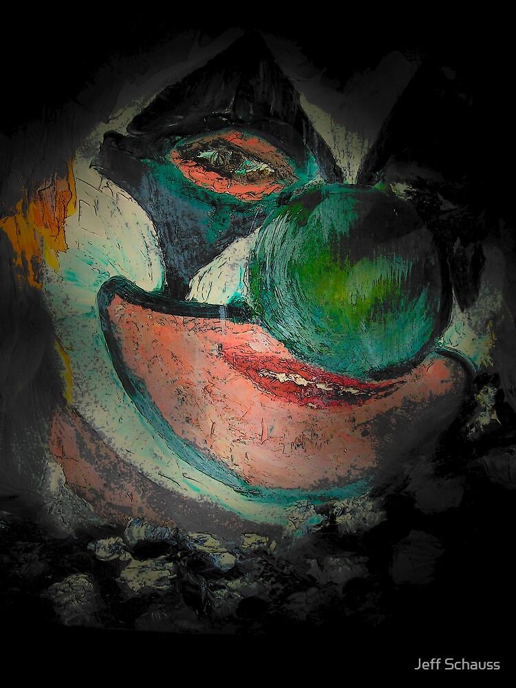 Scary Clown ll by jeff schauss