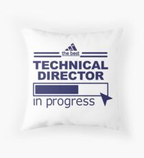 TECHNICAL DIRECTOR Throw Pillow