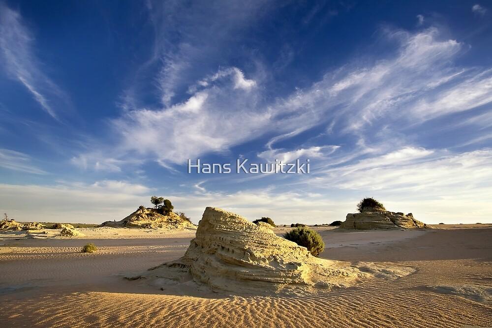 0996 Lunettes - Lake Mungo by Hans Kawitzki