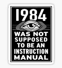 1984 Sticker