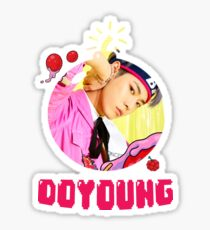 NCT 127 Doyoung Cherry Bomb Sticker