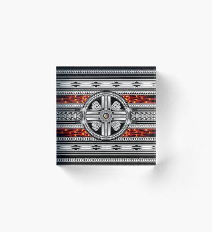 Fire Spirit Acrylic Block