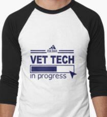 VET TECH Men's Baseball ¾ T-Shirt