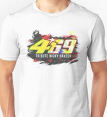 Valentino Rossi Tributes to Nicky Hayden #46 #69 Unisex T-Shirt