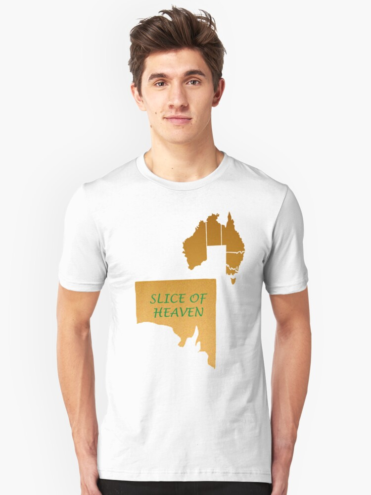 sa great - slice of heaven Unisex T-Shirt Front