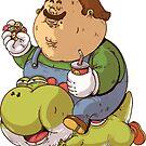 Fat Luigi und Yoshi von GKnation