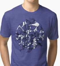 Hortensias theme fantasy1 Tri-blend T-Shirt