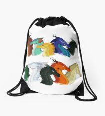 Wings of Fire - POV Characters Drawstring Bag