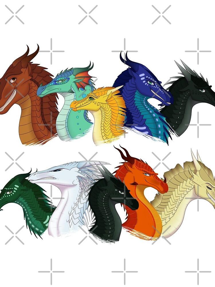 Flügel des Feuers - POV Charaktere von TheDragonReborn