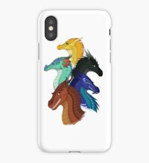 Wings of Fire First Arc Main Characters iPhone Case/Skin