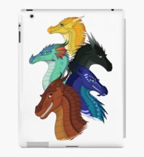 Flügel des Feuers Erste Bogen Hauptcharaktere iPad-Hülle & Klebefolie