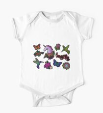 A set of small embroideries, stickers. Kids Clothes