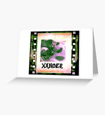 Xander - personalize your gift Greeting Card