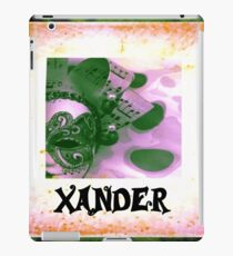 Xander - personalize your gift iPad Case/Skin