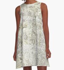 Carta Marina A-Line Dress