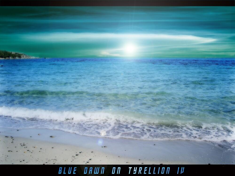 BLUE DAWN  by karmadesigner