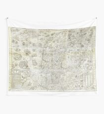 Carta Marina Wall Tapestry
