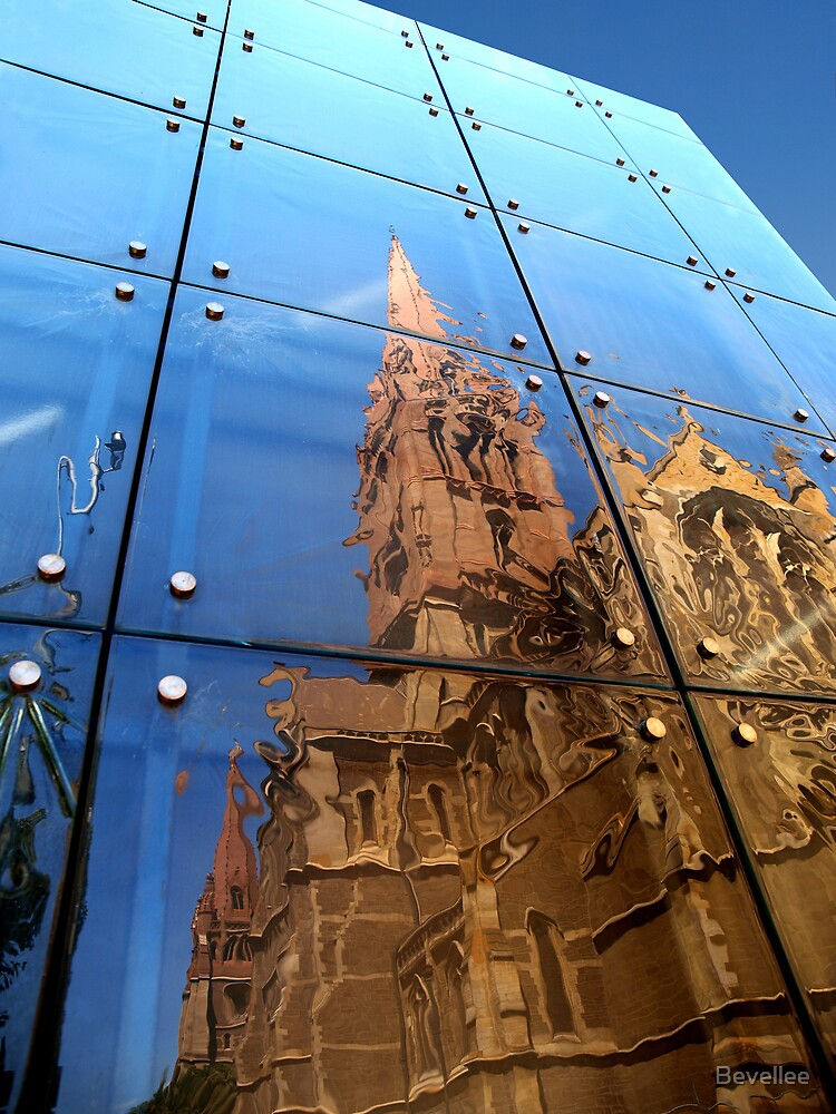 Cathedral Reflection by Bevellee