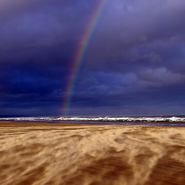 Rainbow in a Sandstorm, St Andrews II by becca305