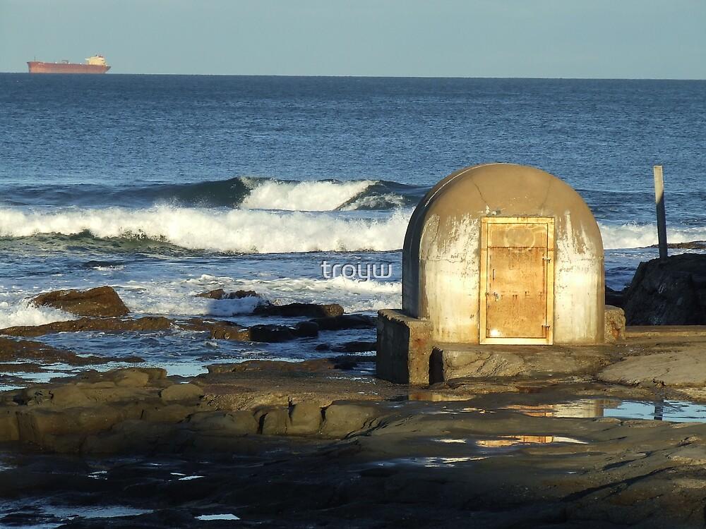 Cowrie Hole @ Newcastle Beach, Australia by troyw